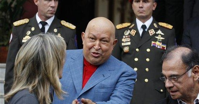 Hugo Chavez: 'There is no government in Libya'