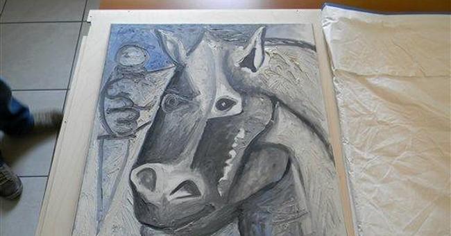 2 stolen Picassos found in Serbia