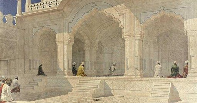 Giant Russian painting of Indian mosque sold in NY