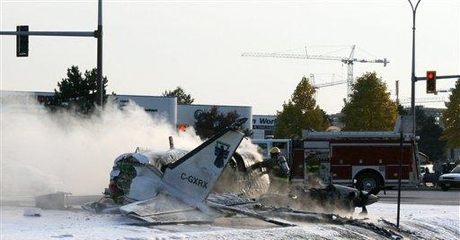 Small plane crashes near Vancouver airport