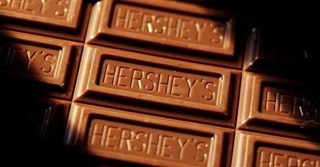 Hershey 3Q profit rises, boosting sales forecast