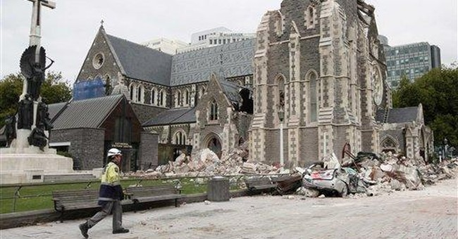 NZ's quake-hit cathedral to be partly torn down