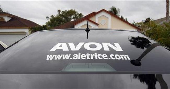 Avon stock sinks on SEC probe, pulled 2011 outlook