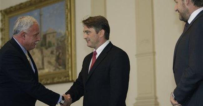 Palestinian FM arrives in Bosnia to lobby