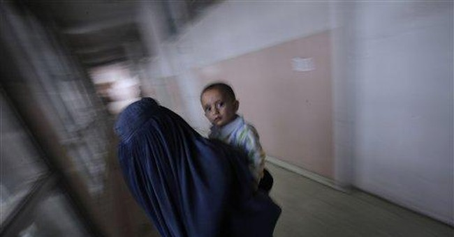 Photo Essay: Afghan infant mortality still high