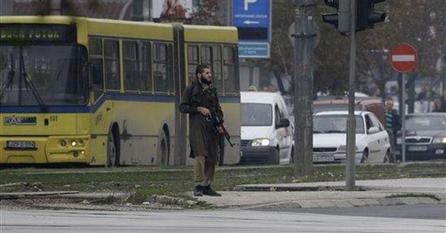 Terrorist attack outside US Embassy in Bosnia
