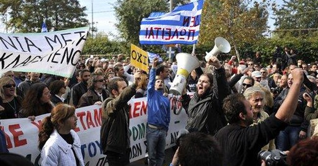 Civil disobedience in Greece grows over austerity