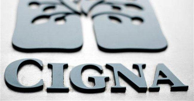 Cigna 3Q profit falls, but expects 2012 growth