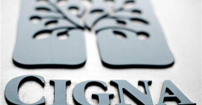 Cigna 3Q profit falls, but expects 2012 growth