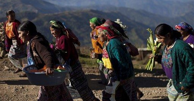 Guatemalans bury 9 killed by guerrillas in 1982