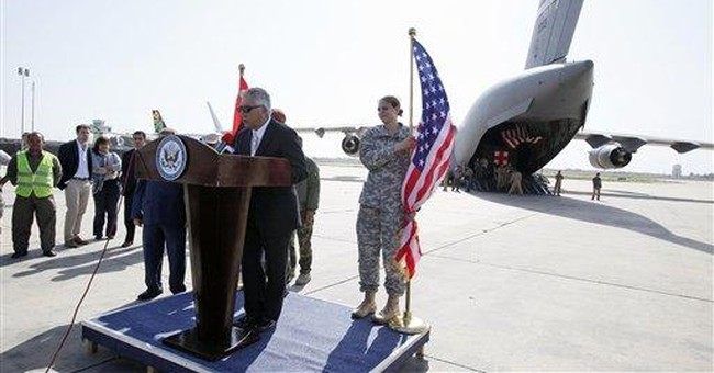 More than 20 Libyan war wounded flown to US