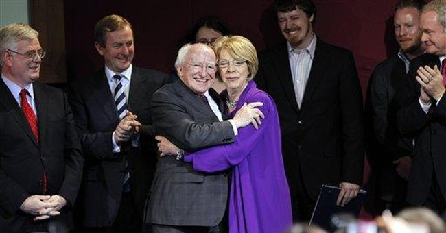 Higgins wins Irish presidency with 57 pct of votes