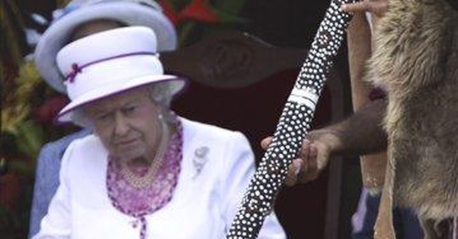 Queen Elizabeth II ends Aussie visit with barbecue