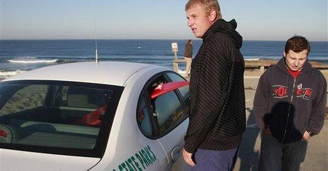 Surfer hospitalized after Calif. shark attack
