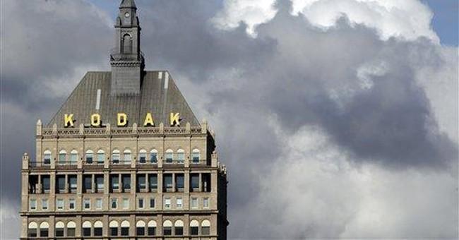 Can Kodak rescue itself via a patent bonanza?