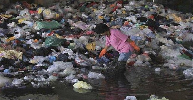 Flood-wary Bangkok is contrast of misery, normalcy