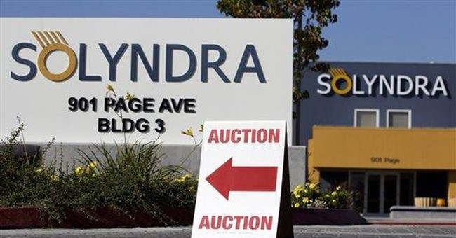 Solar panel maker Solyndra set to auction assets