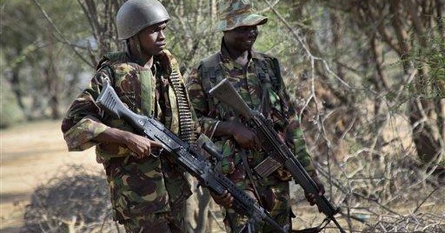 Kenya military claims to kill 18 pirates