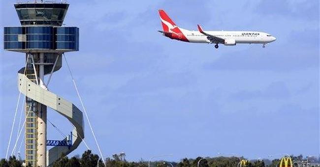 Oz police probe suspected sabotage of Qantas jet