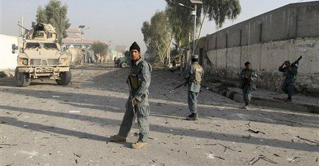 Attack near UN office kills 5 in Afghanistan
