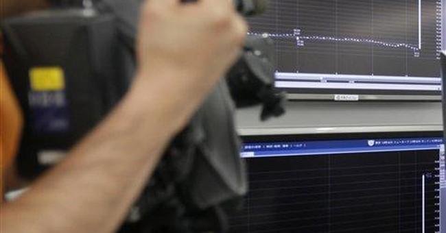 Stocks drop sharply as European debt fears return