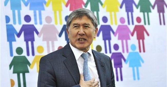 Kyrgyz election winner says US base poses risk