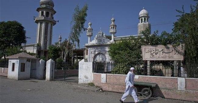 Head of Taliban school offers to help Afghan talks