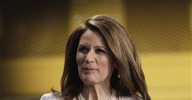 Bachmann to protesters: Stop blaming free market