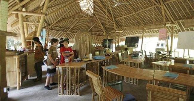 Bamboo building bonanza in Bali