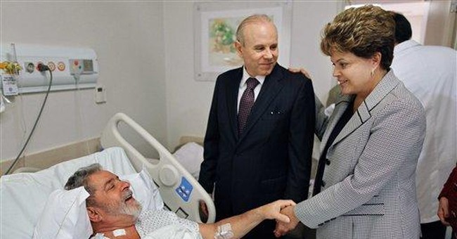 Brazil's Silva heads home after chemotherapy