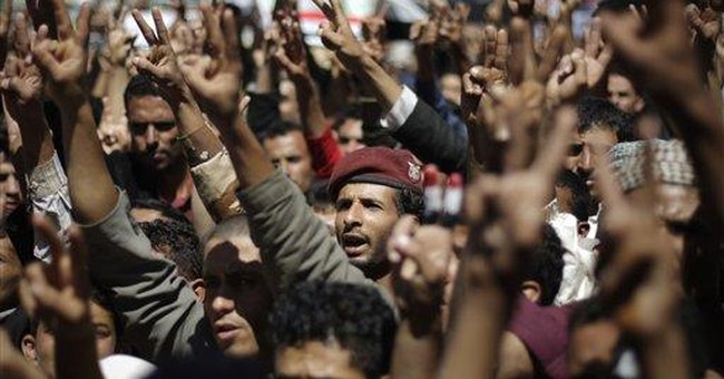 9 killed in clashes in central Yemen