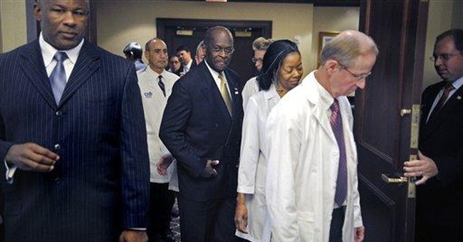Perry adviser denies harassment talk with Cain