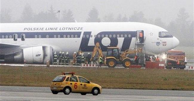 Stricken Polish Boeing made flawless landing