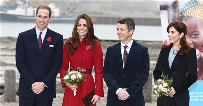 Will and Kate visit UNICEF center in Denmark