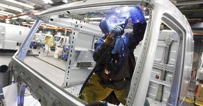 Worker productivity rises, labor costs fall