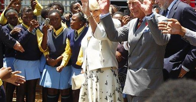 Charles, Camilla start S. African tour in Soweto