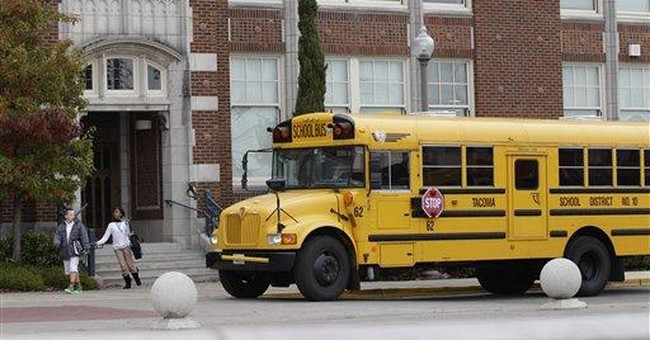 In Washington, school buses in path of budget ax