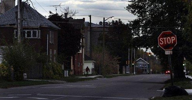Unable to pay bill, Mich. city turns off lights