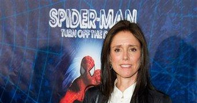 Julie Taymor eligible for a Tony for 'Spider-Man'
