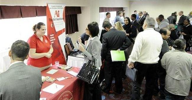 Modest improvement for job market in October
