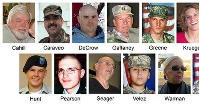 Fort Hood victims' kin holding private memorials