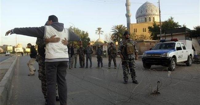Bombs kill 8 in Baghdad market, Iraqi police say
