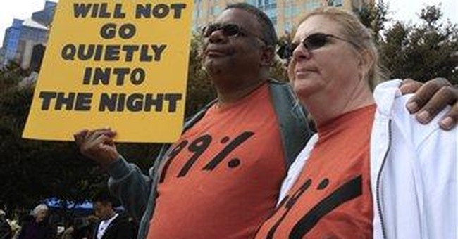 Occupy protests inspires T-shirts, trademark bids