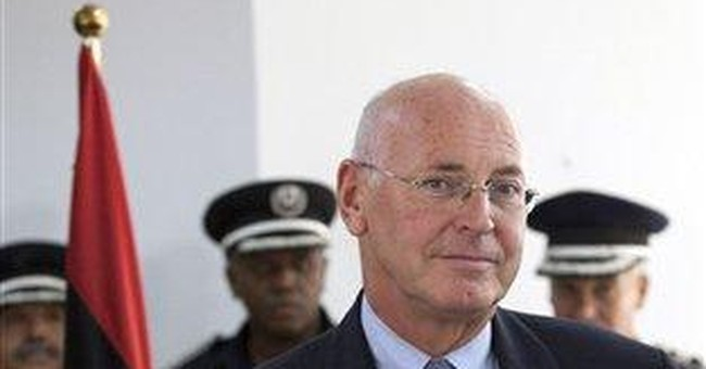 AP Interview: UN envoy warns of missing Libya arms