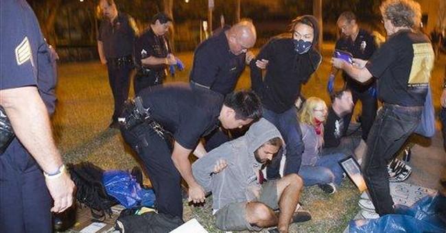 Police arrest Occupy Honolulu protesters
