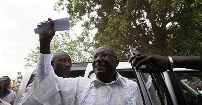 Liberia president asks voters to ignore boycott