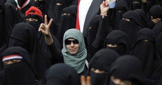 Yemen uprising binds women from many walks of life