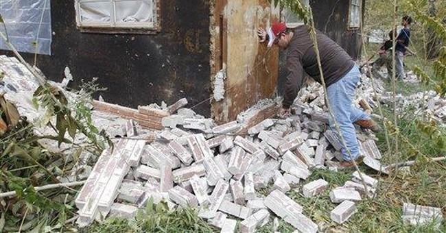 Experts: Okla. quakes too powerful to be man-made