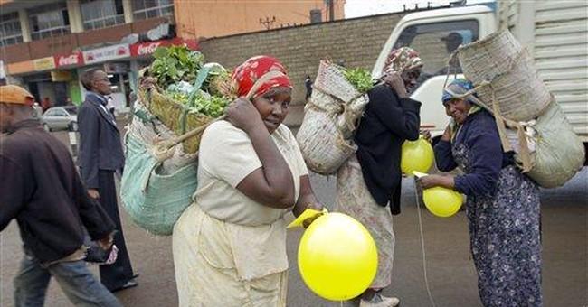 Countering fear, balloons inspire smiles in Kenya