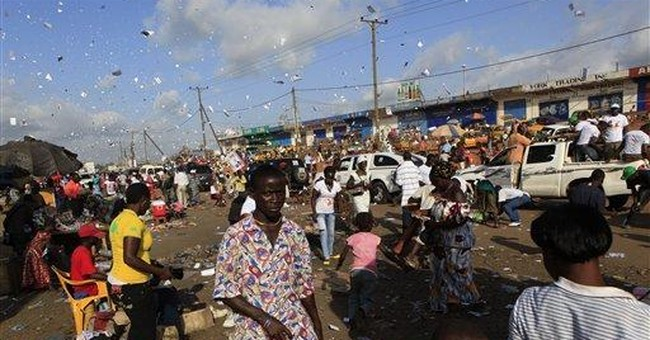 Deadly riot breaks out in Liberia day before vote